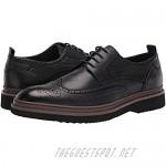 Zanzara Men's Casual Dress Shoe Oxford Navy 10.5