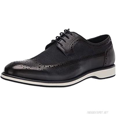 Zanzara Men's Casual Dress Shoe Oxford Navy 12