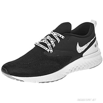 Nike Mens Odyssey React 2 Flyknit Knit Track Running Shoes