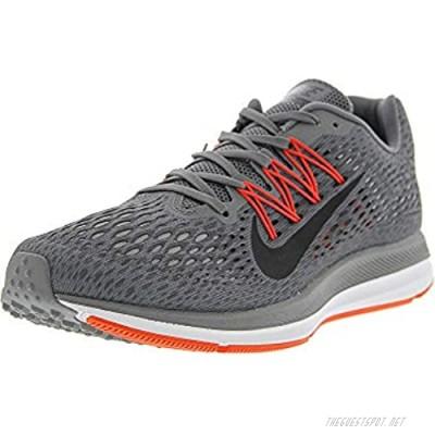 Nike Men's Zoom Winflo 5 Gunsmoke/Oil Grey - Thunder Ankle-High Mesh Running Shoe 8M