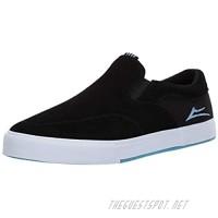 Lakai Footwear Owen VLK Capps Black Suedesize Tennis Shoe Black Suede