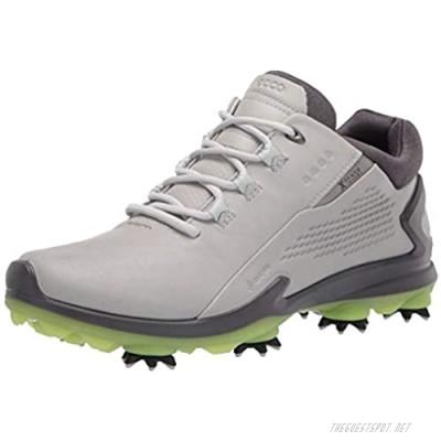 ECCO Men's Biom G 3 Gore-Tex Golf Shoe Concrete 7-7. 5
