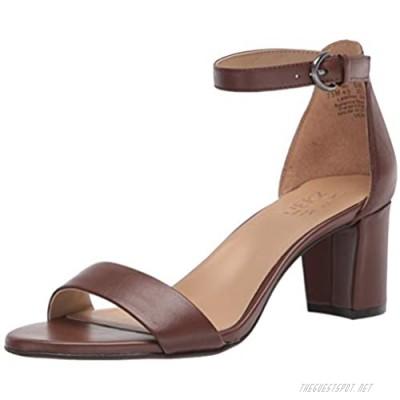 Naturalizer Women's Vera Heeled Sandal Cocoa 9 Narrow