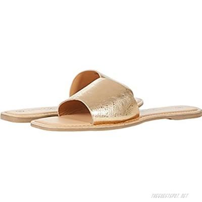 Chinese Laundry Women's Regina Slide Sandal Gold 5.5