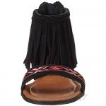 Minnetonka Women's Ankle Strap Sandals