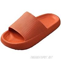 Pillow Slides for Women men Shower Shoes Slippers Bathroom Sandals Quick-Dry Non-Slip Thick Sole Slippers Platform Sandals Home