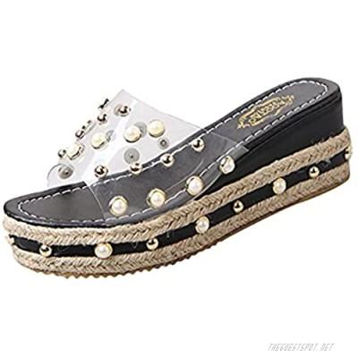Women Sandals Open Toe Ankle Strap Sandals Summer Platform Sandal Block Heel Boho Party Dress Shoes
