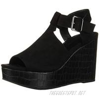 BC Footwear Women's Here We Go Wedge Sandal