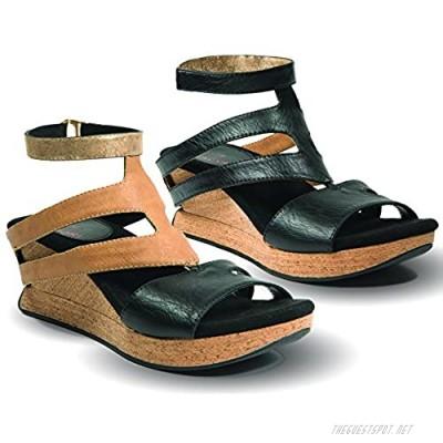 Modzori Fabia Women's Mid Wedge Reversible Sandal