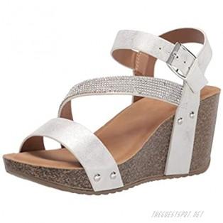 YOKI Women's Comfort Wedge Sandal