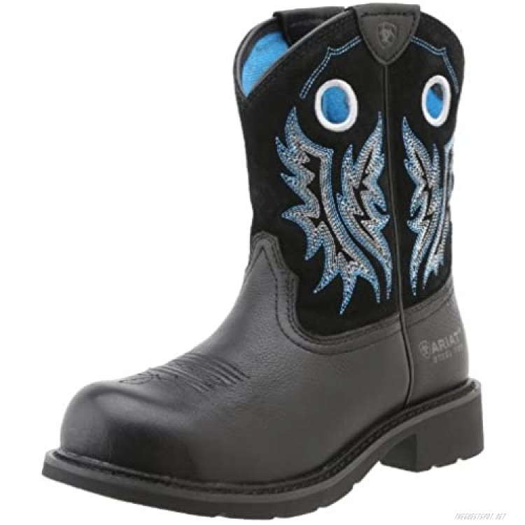 Ariat Fatboy Cowgirl Steel Toe Work Boots - Women's Leather Western Boot