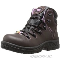 """Avenger Work Boots womens Framer 6"""" Leather Comp Toe Waterproof Puncture Resistant Eh Hiker"""