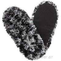 Fuzzy Footies Womens Slip Resistant Slippers