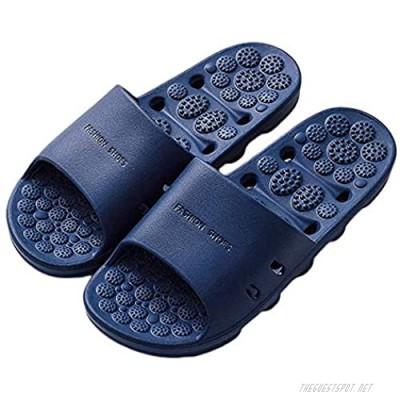 SHIBEVER Shower Bathroom Slipper Acupressure Massage Sandals for Women Non-Slip Massage Shoes Quick Drying Bath Shower Slippers