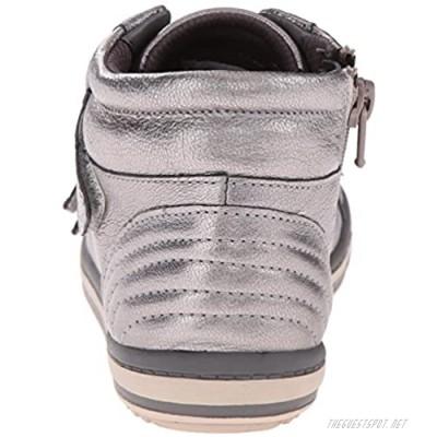 Clarks Espie Skye LK BK Boot (Little Kid/Big Kid) Silver 1.5 M US Little Kid
