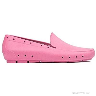 SHOLORS Big Kids Water-Friendly Comfortable Slip On Water Shoe 6 Pink