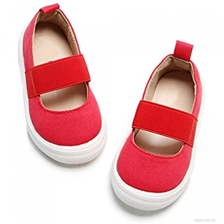 Kolan Toddler Girl Shoes Slip-On Casual Sneakers