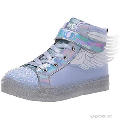 Skechers Unisex-Child Shuffle Brights-Sparkle Wings Sneaker