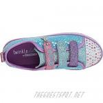 Skechers Unisex-Child Twinkle Lite-Mermaid Magic Sneaker