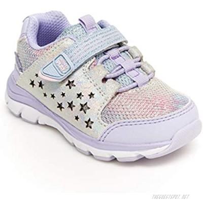 Stride Rite Girls Made2Play Moriah Sneaker Lavendar 2 Wide Little Kid