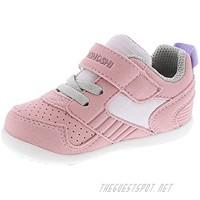 TSUKIHOSHI Girls' 2510 Racer Baby Sneaker Rose/Pink - 5.5 Toddler (1-4 Years)