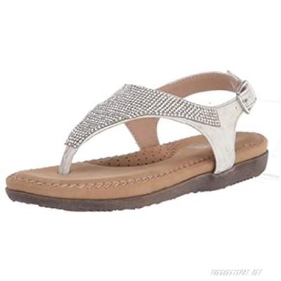 Volatile Unisex-Child T-Strap Flat Sandal