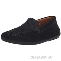 Driver Club USA Unisex-Child Kids Leather Fashion Luxury Driving Loafer with Venetian Detail