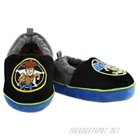 Disney Toy Story Woody Buzz Boys Toddler A-Line Slippers